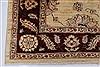 Pishavar Beige Hand Knotted 411 X 68  Area Rug 250-27163 Thumb 7