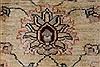 Pishavar Beige Hand Knotted 411 X 68  Area Rug 250-27163 Thumb 9