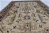 Pishavar Beige Hand Knotted 49 X 68  Area Rug 250-27172 Thumb 4