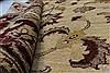 Pishavar Beige Hand Knotted 411 X 67  Area Rug 250-27173 Thumb 2