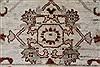 Pishavar Beige Hand Knotted 411 X 70  Area Rug 250-27178 Thumb 10