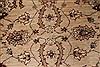 Pishavar Beige Hand Knotted 53 X 69  Area Rug 250-27187 Thumb 5