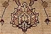 Pishavar Beige Hand Knotted 53 X 69  Area Rug 250-27187 Thumb 8