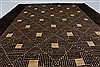 Modern Beige Hand Knotted 411 X 64  Area Rug 250-27200 Thumb 2