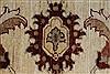 Pishavar Beige Hand Knotted 50 X 66  Area Rug 250-27202 Thumb 9