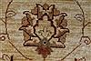 Pishavar Beige Hand Knotted 169 X 208  Area Rug 250-27205 Thumb 10