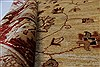 Pishavar Beige Hand Knotted 169 X 208  Area Rug 250-27205 Thumb 1