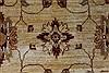 Pishavar Beige Hand Knotted 169 X 208  Area Rug 250-27205 Thumb 6