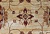 Pishavar Beige Hand Knotted 169 X 208  Area Rug 250-27205 Thumb 7