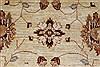 Pishavar Beige Hand Knotted 51 X 511  Area Rug 250-27208 Thumb 6