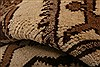 Baluch Brown Runner Hand Knotted 29 X 510  Area Rug 253-27218 Thumb 14