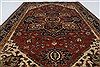 Serapi Red Hand Knotted 40 X 60  Area Rug 250-27246 Thumb 4