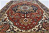 Serapi Red Hand Knotted 31 X 510  Area Rug 250-27255 Thumb 4
