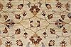 Pishavar Beige Hand Knotted 411 X 511  Area Rug 250-27270 Thumb 5