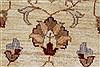 Pishavar Beige Hand Knotted 411 X 511  Area Rug 250-27270 Thumb 8