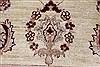 Pishavar Beige Hand Knotted 410 X 64  Area Rug 250-27275 Thumb 7
