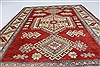 Kazak Red Hand Knotted 44 X 510  Area Rug 250-27277 Thumb 4