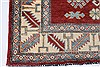 Kazak Red Hand Knotted 44 X 510  Area Rug 250-27277 Thumb 7