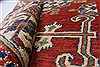 Kazak Red Hand Knotted 39 X 55  Area Rug 250-27280 Thumb 1