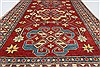 Kazak Red Hand Knotted 42 X 64  Area Rug 250-27281 Thumb 7