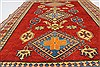Kazak Red Hand Knotted 44 X 58  Area Rug 250-27302 Thumb 3
