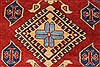 Kazak Red Hand Knotted 44 X 58  Area Rug 250-27302 Thumb 6