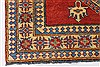 Kazak Red Hand Knotted 44 X 58  Area Rug 250-27302 Thumb 7