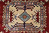 Kazak Red Hand Knotted 39 X 49  Area Rug 250-27308 Thumb 6