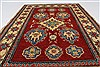Kazak Red Hand Knotted 37 X 52  Area Rug 250-27322 Thumb 4