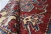 Kazak Red Hand Knotted 42 X 60  Area Rug 250-27325 Thumb 12