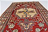 Kazak Red Hand Knotted 37 X 53  Area Rug 250-27327 Thumb 3
