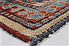 Kazak Red Hand Knotted 37 X 53  Area Rug 250-27327 Thumb 7