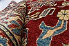 Kazak Red Hand Knotted 37 X 56  Area Rug 250-27328 Thumb 1