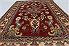 Kazak Red Hand Knotted 37 X 56  Area Rug 250-27328 Thumb 4