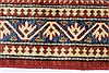 Kazak Red Hand Knotted 311 X 54  Area Rug 250-27331 Thumb 5