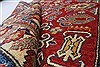 Kazak Red Hand Knotted 39 X 55  Area Rug 250-27333 Thumb 1