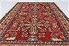 Kazak Red Hand Knotted 39 X 55  Area Rug 250-27333 Thumb 4