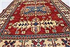 Kazak Red Hand Knotted 40 X 50  Area Rug 250-27349 Thumb 4