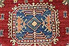 Kazak Red Hand Knotted 40 X 50  Area Rug 250-27349 Thumb 6