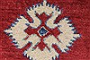 Kazak Red Hand Knotted 40 X 57  Area Rug 250-27351 Thumb 8