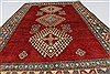 Kazak Red Hand Knotted 37 X 59  Area Rug 250-27353 Thumb 3
