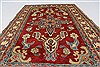 Kazak Red Hand Knotted 37 X 59  Area Rug 250-27355 Thumb 5