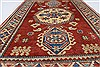 Kazak Red Hand Knotted 38 X 59  Area Rug 250-27357 Thumb 3