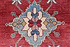 Kazak Red Hand Knotted 310 X 58  Area Rug 250-27362 Thumb 6