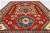 Kazak Red Hand Knotted 45 X 60  Area Rug 250-27366 Thumb 3