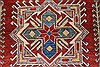 Kazak Red Hand Knotted 45 X 60  Area Rug 250-27366 Thumb 5