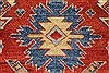 Kazak Red Hand Knotted 45 X 60  Area Rug 250-27366 Thumb 8