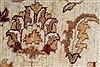 Pishavar Beige Hand Knotted 51 X 60  Area Rug 250-27369 Thumb 10