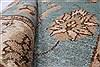 Pishavar Beige Hand Knotted 33 X 410  Area Rug 250-27370 Thumb 1