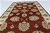 Ziegler Beige Hand Knotted 31 X 51  Area Rug 250-27371 Thumb 3